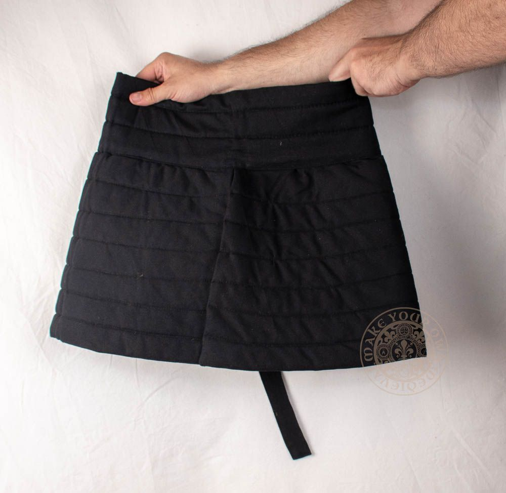 Padded skirt for HMB and SCA medieval combat