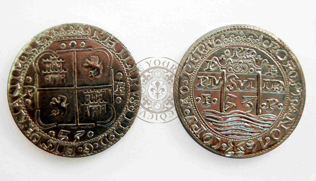 1621-1724 Piece of 8 Spanish Pirate Coin