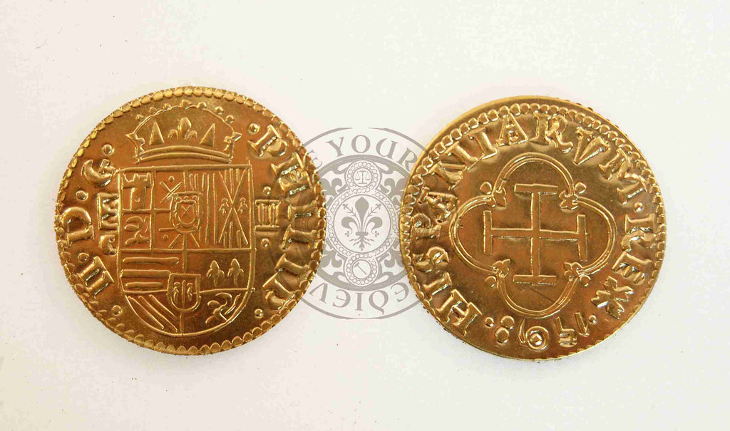 16th - 17th Century Spanish Gold Doubloon – Pirate