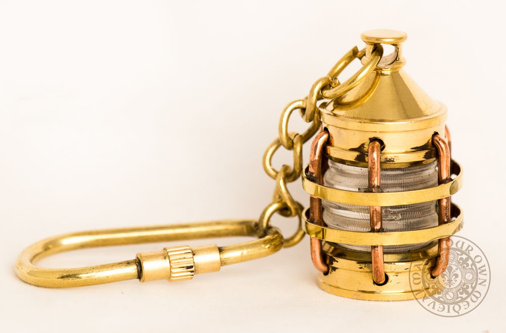 Pirate Ships Lantern Key Ring -