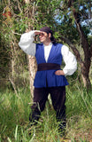 mens Pirate shirt and vest complete costume set