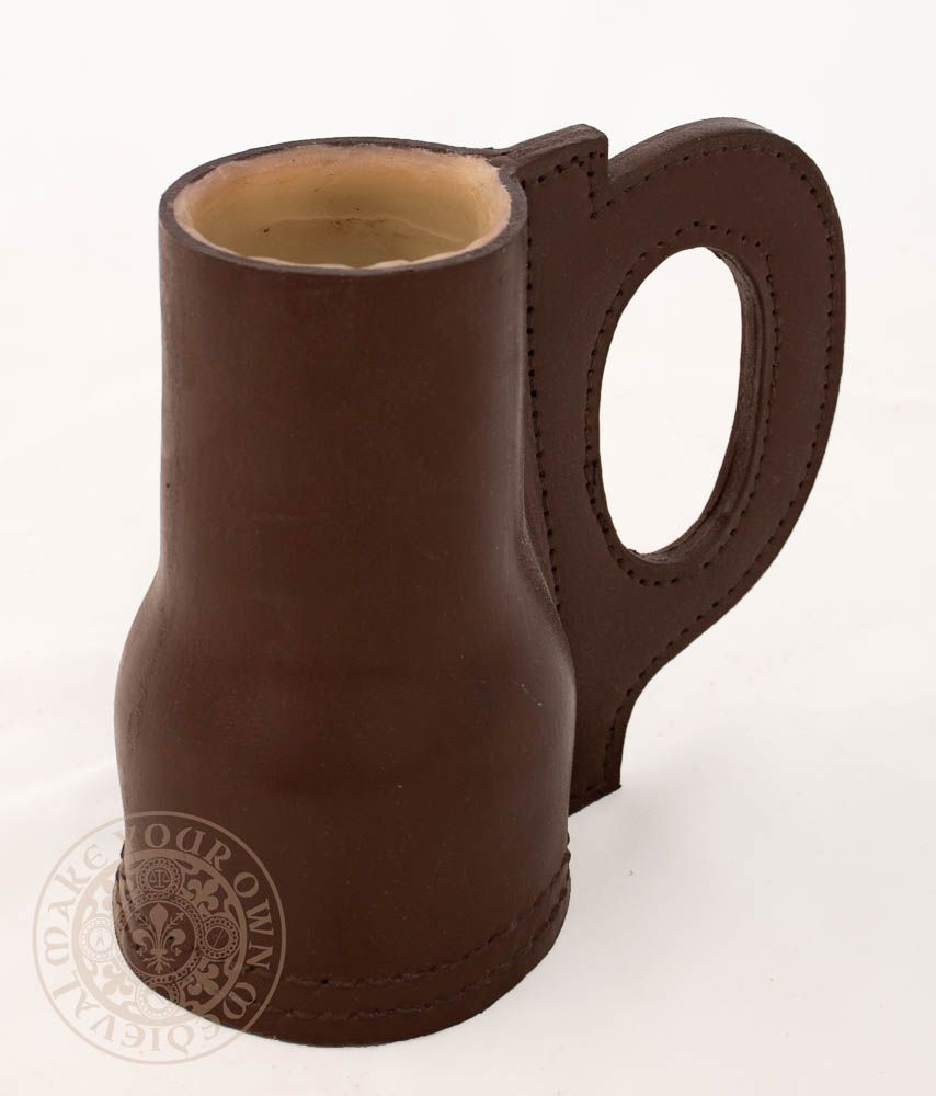 Renaissance Leather Tankard Jack for drinking ale and beer