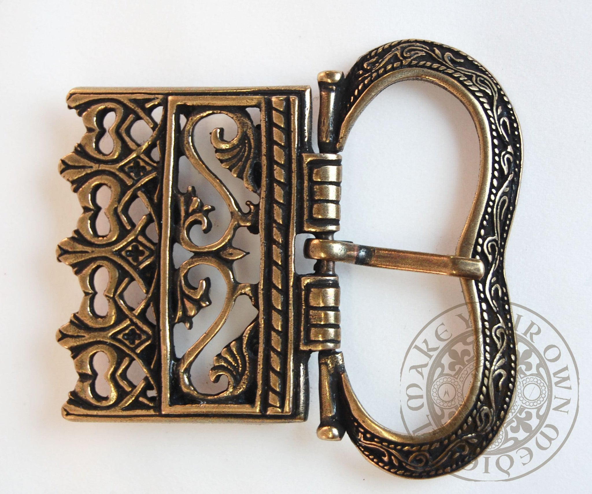 Renaissance wide belt buckle clothing and costume SCA garb