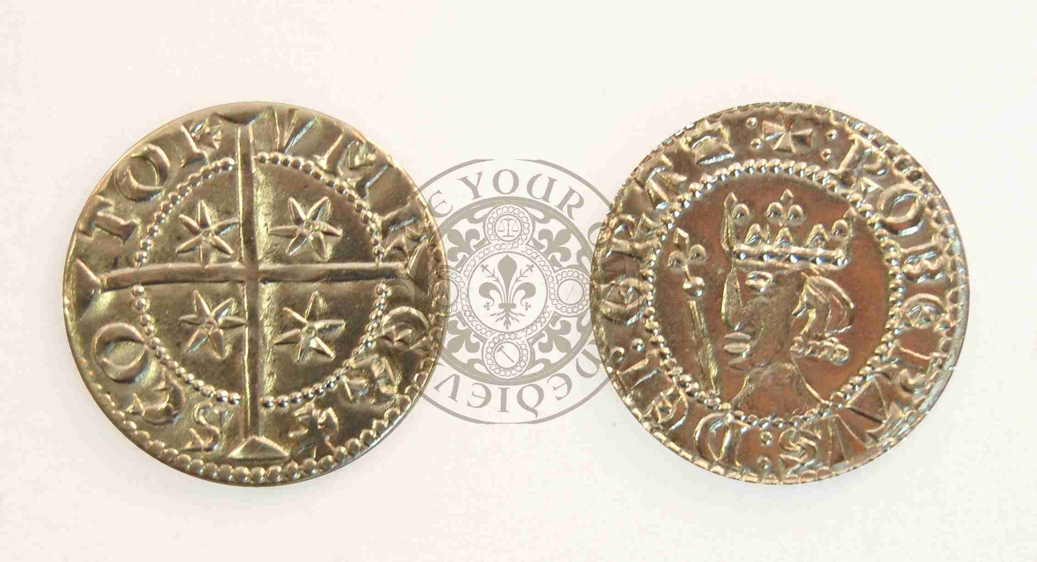 Robert The Bruce Scottish Coin (1306 - 1329)