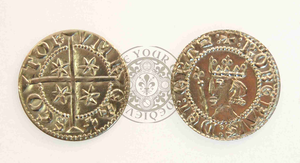 1306 - 1329 Robert The Bruce Scottish Coin
