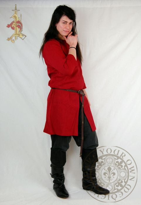 SCA Viking tunic in red