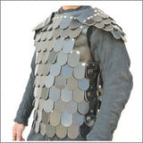 Scale armour made from leather mongal armour LARP