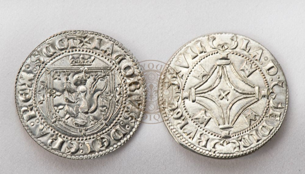 (1488 - 1513) James IV Plack Scottish Reproduction Coin.