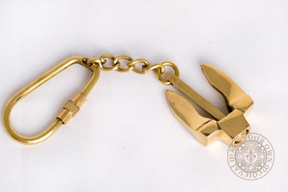 Ships Anchor Key Ring