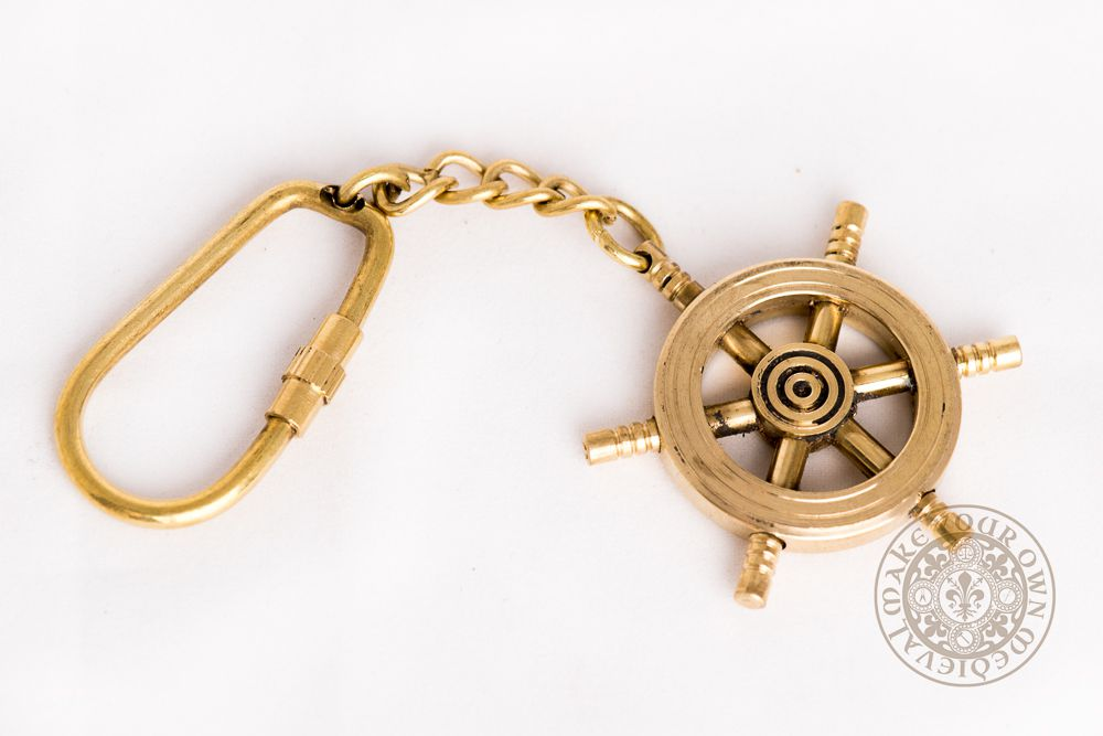 Ships Wheel Key Ring