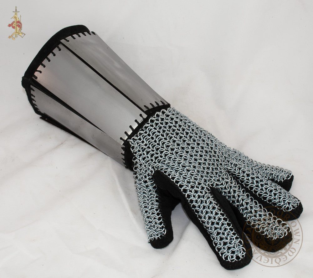 Splint and Mail Gauntlets