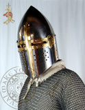 Sugarloaf crusade helm Medieval armour