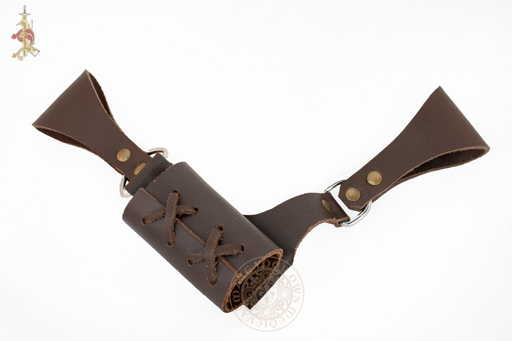 Adjustable Sword Holder / Frog - Brown