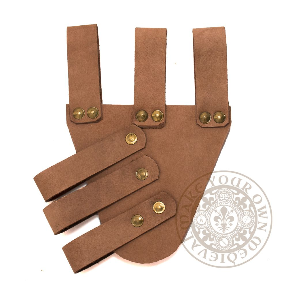 Tan leather SCA rapier sword scabbard