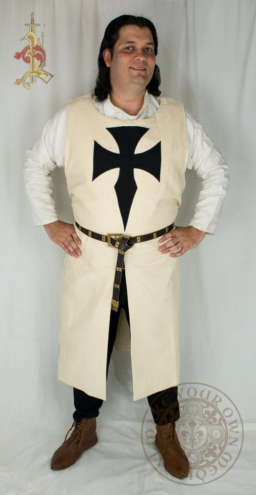 Teutonic Knights crusader Tabard medieval costume and clothing