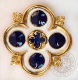 Tudor renaissance SCA jewellery ladies medieval brooch 16th century