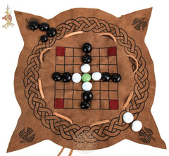 Viking Talf  Hnefatafl board Game