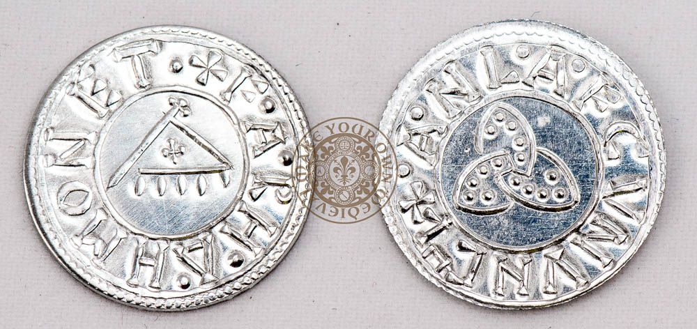 Viking 10th century reproduction coin