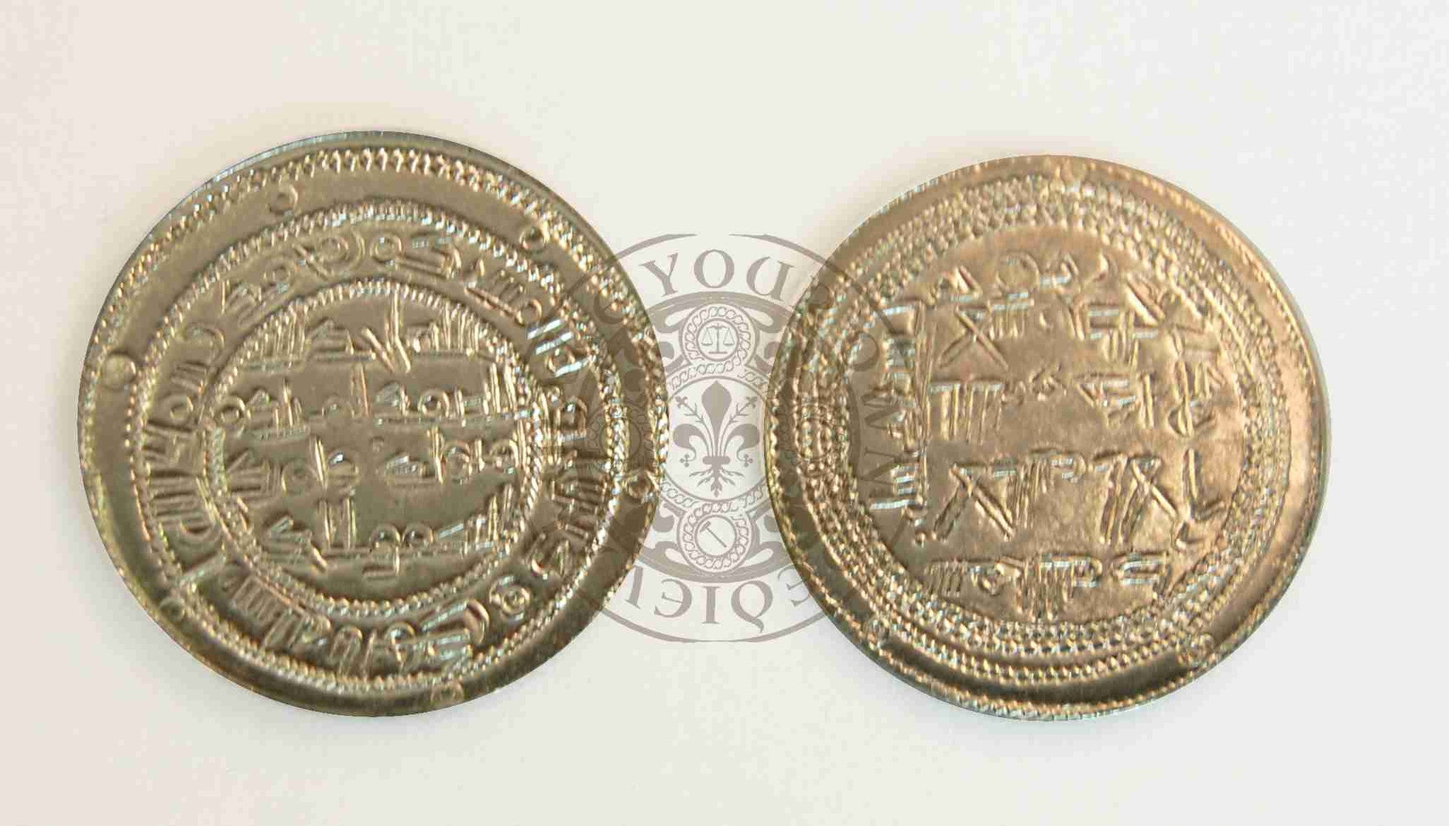Viking Hoard - Umayyad Dynasty Dirhem Coin Reproduction