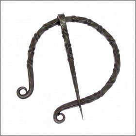 Horse Shoe Shaped Forged Cloak / Fibula