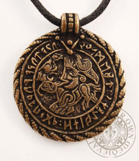 5th Century Vadstena Bracteate Viking Amulet