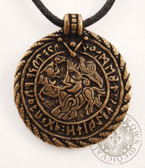 Viking Jewellery Amulet Vadstena Bracteate