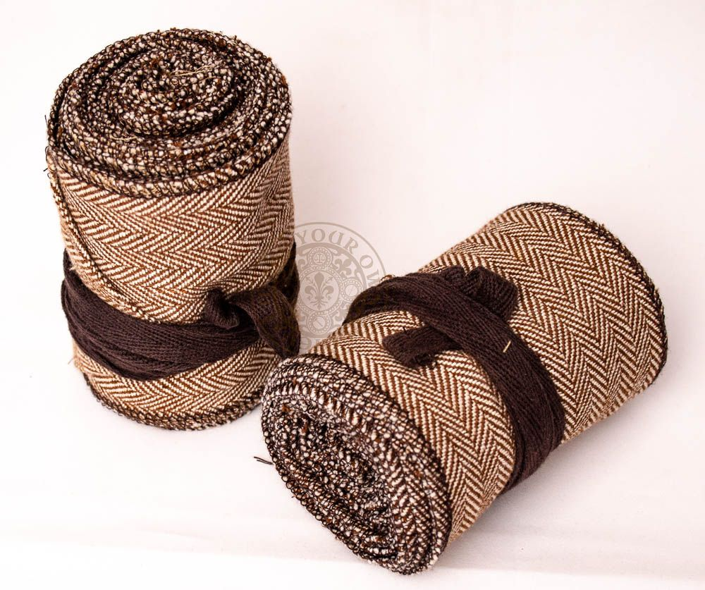Viking Winingas Leg Wraps Brown