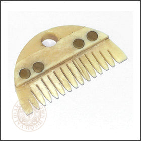 Viking beard comb made from bone