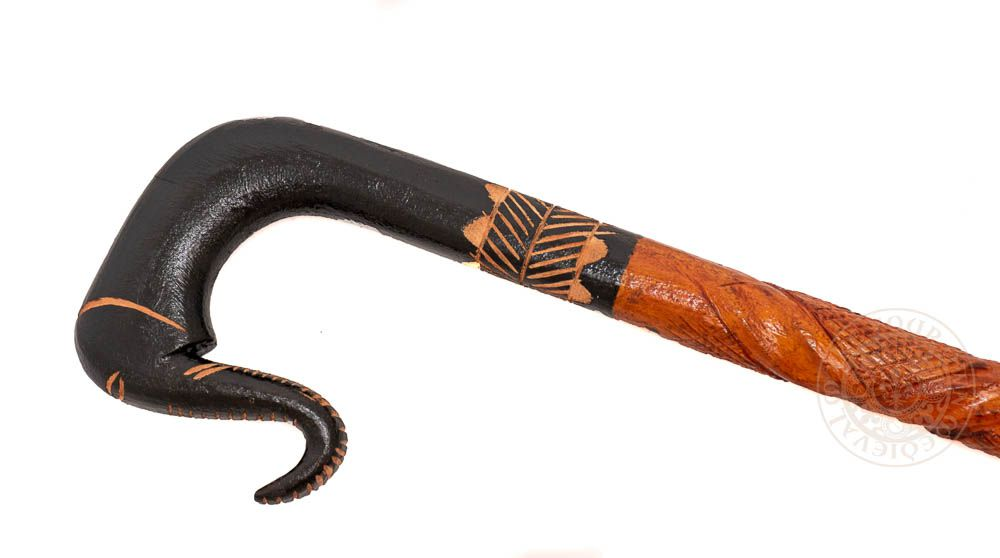 Walking stick with Elephant Handle