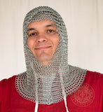 chain mail coif viking and crusader armour SNC1401ZP