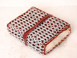chainmail and leather Journal for geek gifts