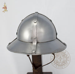 Crusader Kettle Helm 13th-15th century (14 Gauge)