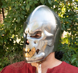 demon steel helmet for LARP
