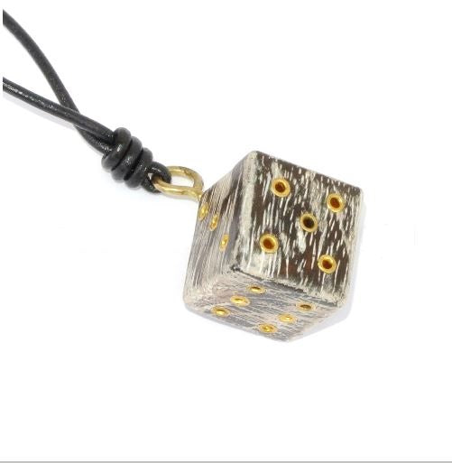 gamers D6 dice pendant gift