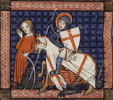 medieval St_George_ cross evidence
