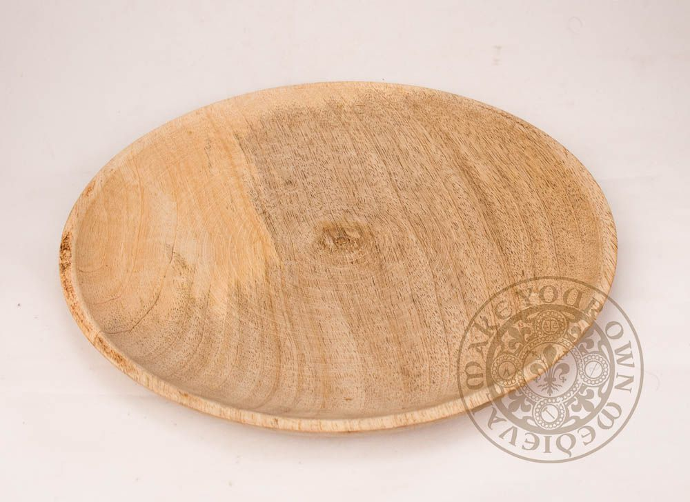 wooden plate for Viking reenactment and weddings