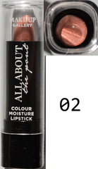 Make Up Gallery Lipstick 'All About The Pout' NEW Red Pink Plum Nude Orange - Click. Buy. Love. - 14