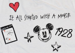Primark Mickey Mouse T Shirt Disney 1928 Womens Ladies UK Sizes 4-20 NEW