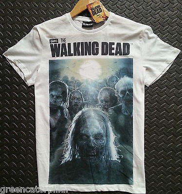 Walking Dead Primark T Shirt Zombie Mens White Sizes M-XL NEW Official Licensed - Click. Buy. Love. - 1