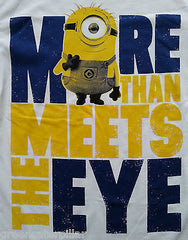 MINIONS T-Shirt More Than Meets The Eye DESPICABLE ME Mens XS-XXXL 100% COTTON - Click. Buy. Love. - 2