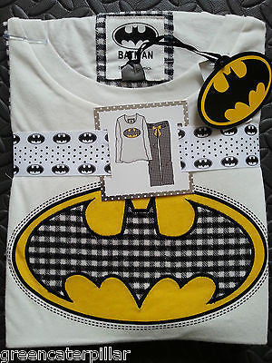 Ladies BATMAN PRIMARK PJ PYJAMA SET New sizes 6 - 20 - Click. Buy. Love. - 1