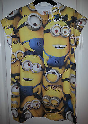 Ladies DESPICABLE ME 2 MINIONS T Shirt Primark Top UK 6-20 - Click. Buy. Love.