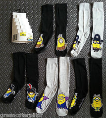 MINIONS MOVIE 5 PACK PRIMARK SOCKS SIZES 6 - 12 ( EU 39 - 46) - Click. Buy. Love. - 2