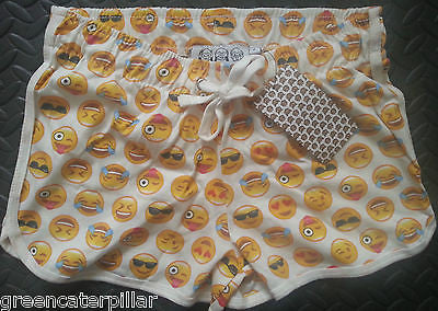PRIMARK Emoji Icons Emojicon Shorts Ladies Womens Sizes 6 - 20 new - Click. Buy. Love. - 1