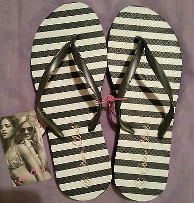 Navy & White Flip Flops Thongs Primark - Click. Buy. Love.