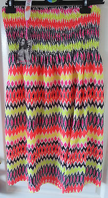 Primark Neon Aztec Beach Dress Cover Up Sizes 6-20 - Click. Buy. Love.