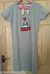 Penguin Primark Nightie T-Shirt NightShirt 'Kiss Me Quick' PJ Pyjama Sizes 6-24 - Click. Buy. Love. - 1