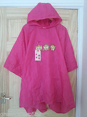 Poncho Primark Emoji Heart Monkey Coat Ladies Womens EMOTIONS ICON One Size NEW - Click. Buy. Love. - 6