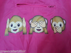 Poncho Primark Emoji Heart Monkey Coat Ladies Womens EMOTIONS ICON One Size NEW - Click. Buy. Love. - 8