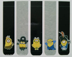 MINIONS MOVIE 5 PACK PRIMARK SOCKS SIZES 6 - 12 ( EU 39 - 46) - Click. Buy. Love. - 3
